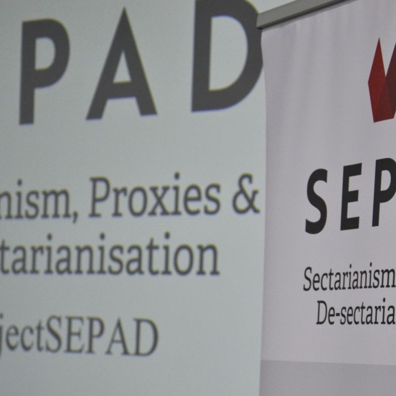 De-sectarianization event